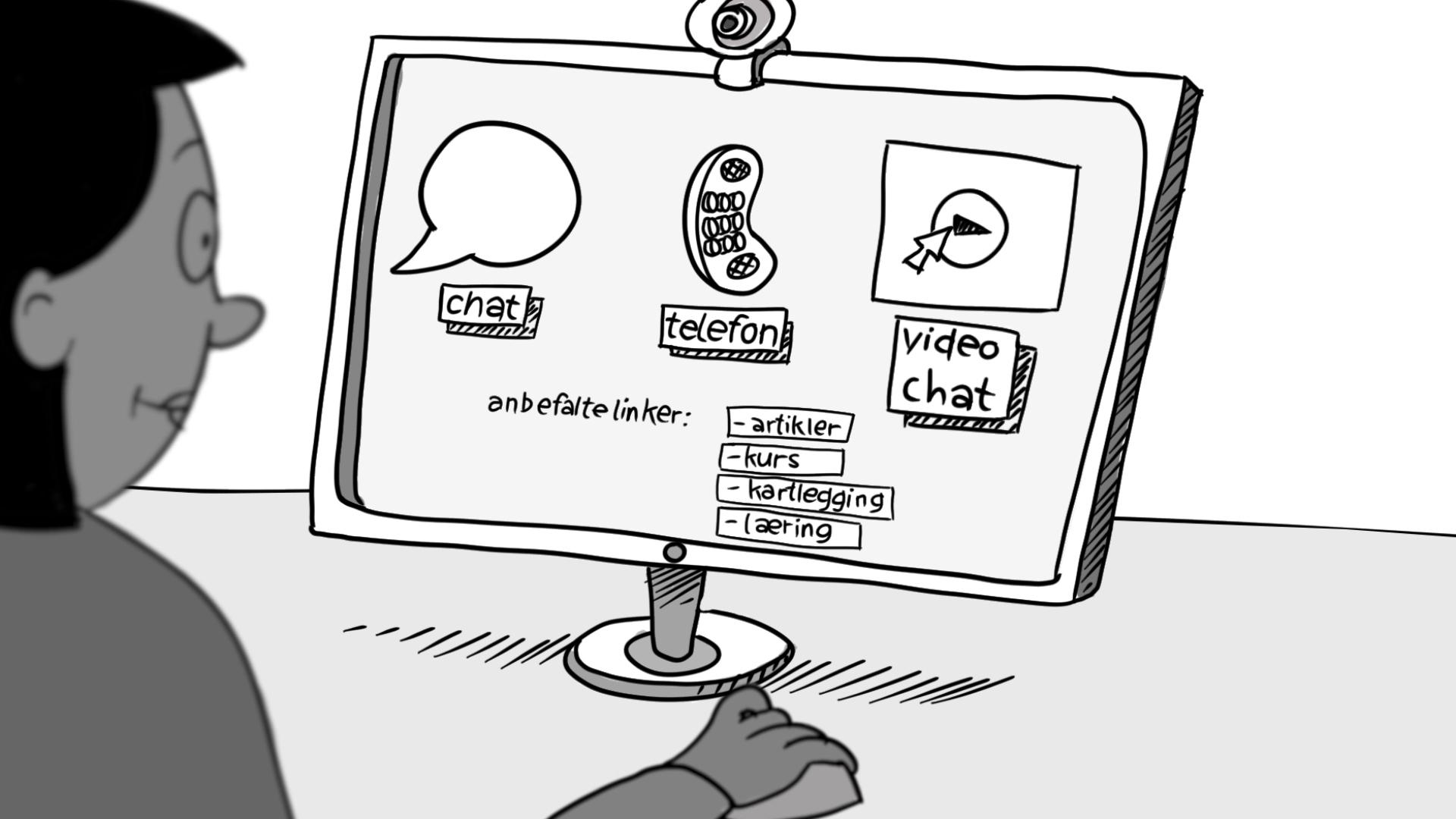 Forklaringsfilm for Statped — Digitalisering