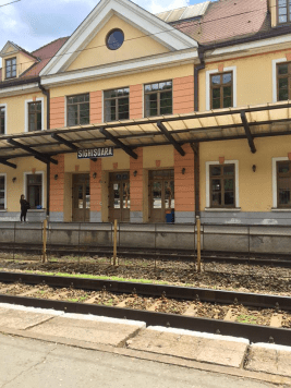 Sighisoara Train Station