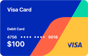 Buy Virtual Visa Gift Card with Bitcoin 1