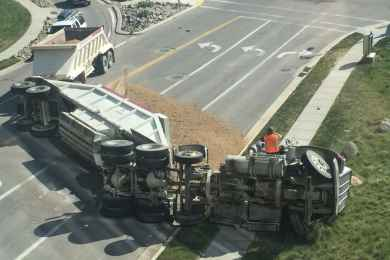 Here's What To Do If You've Been In A Big Truck Accident