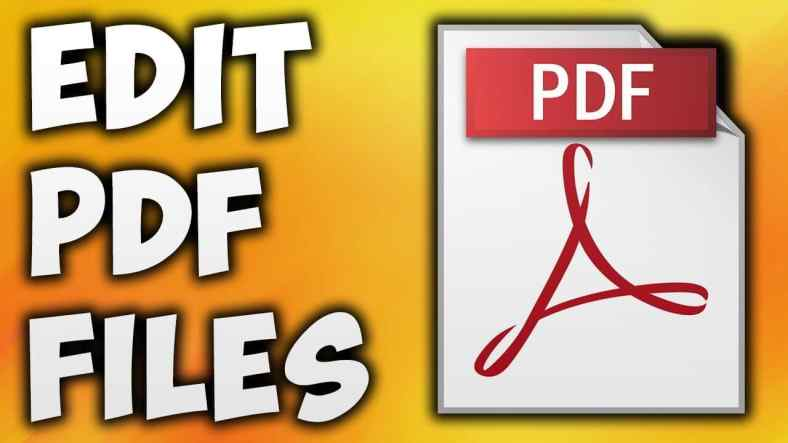 Edit Your PDF Files