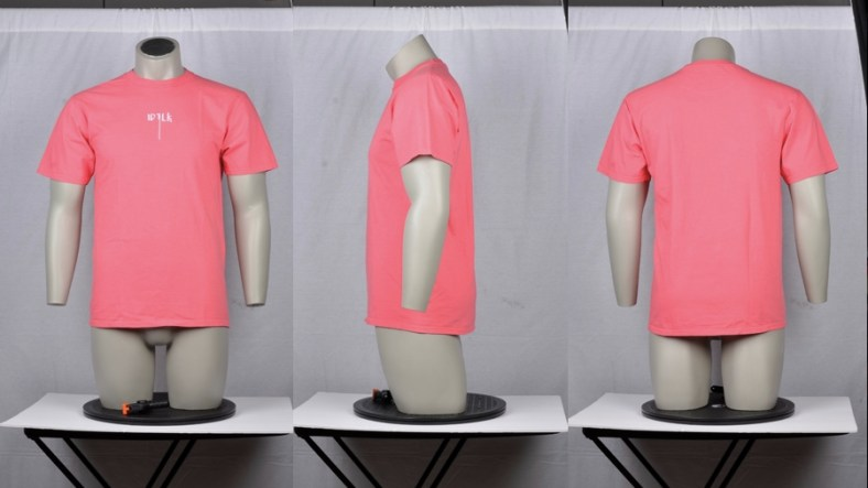 Ghost Mannequin Apparel Product Photography