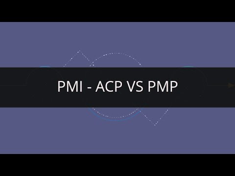 Which one is a better course, PMP or PMI ACP?