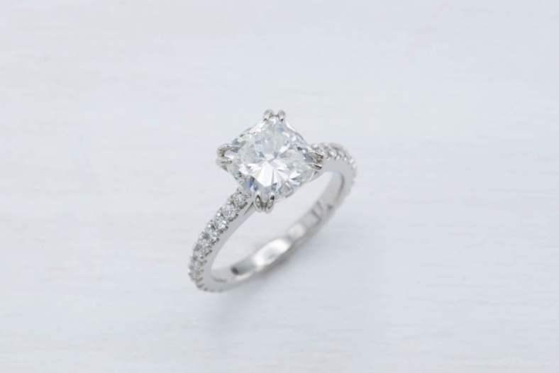 Purchasing Cushion Cut Diamond Precious Jewelry 2