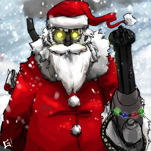 Robo Santa 2.0 by Golden Silver
