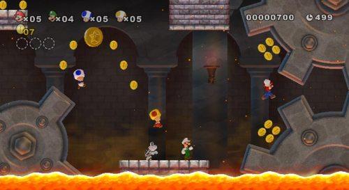New Super Mario Bros. Wii: 4 auf einem Screen