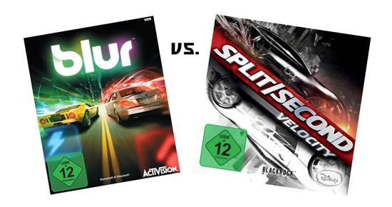 BLUR vs. SPLIT/SECOND: VELOCITY