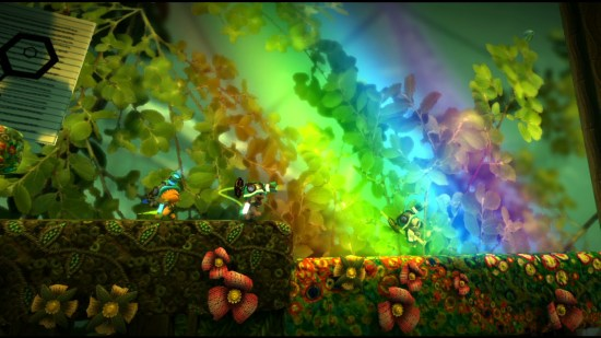 Little Big Planet 2: Rainbow to the Sacks