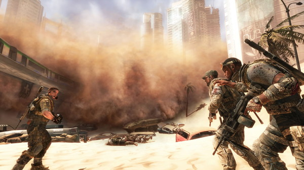 Walker, Adams und Lugo (Spec Ops: The Line)