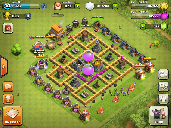 Clash of Clans: Mein Dorf