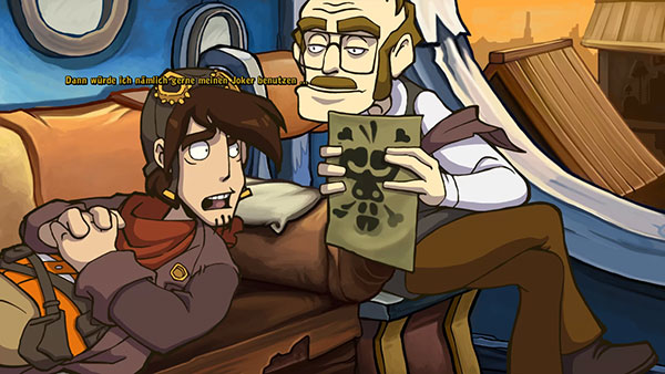 Goodbye Deponia: Rorschach Test