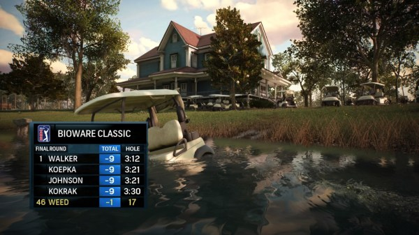 Falschparker in Rory McIlroy PGA Tour