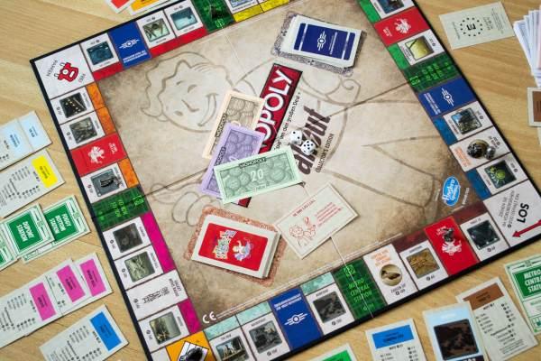 Fallout Monopoly Spielfeld