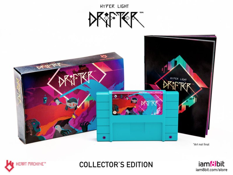 hyper light drifter collectors edition