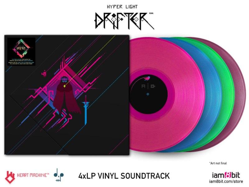 hyper light drifter Vinyl Schallplatte