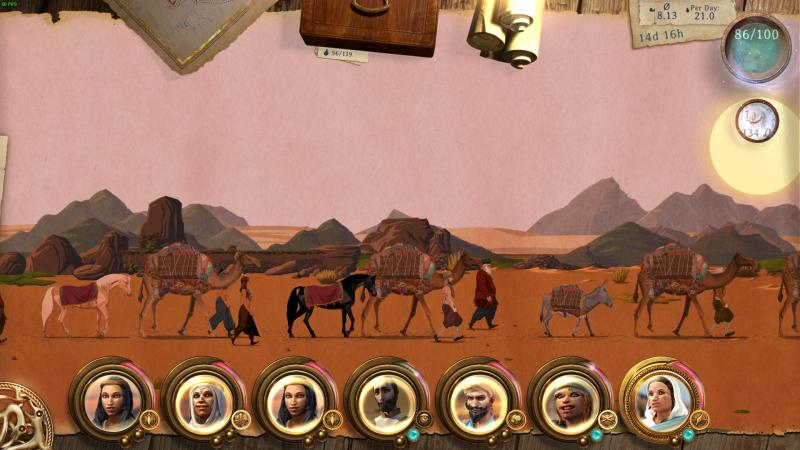 Daedalic gamescom Caravan Screenshot