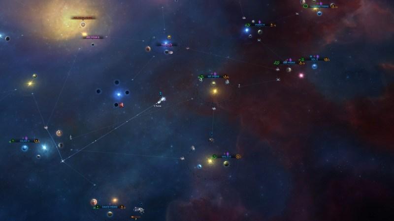 Master of Orion: Sternenkarte