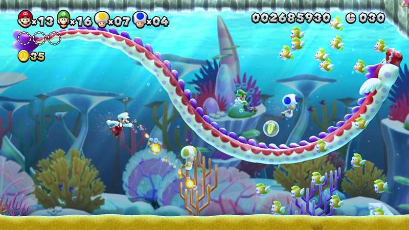 Wii U New Super Mario Bros. U