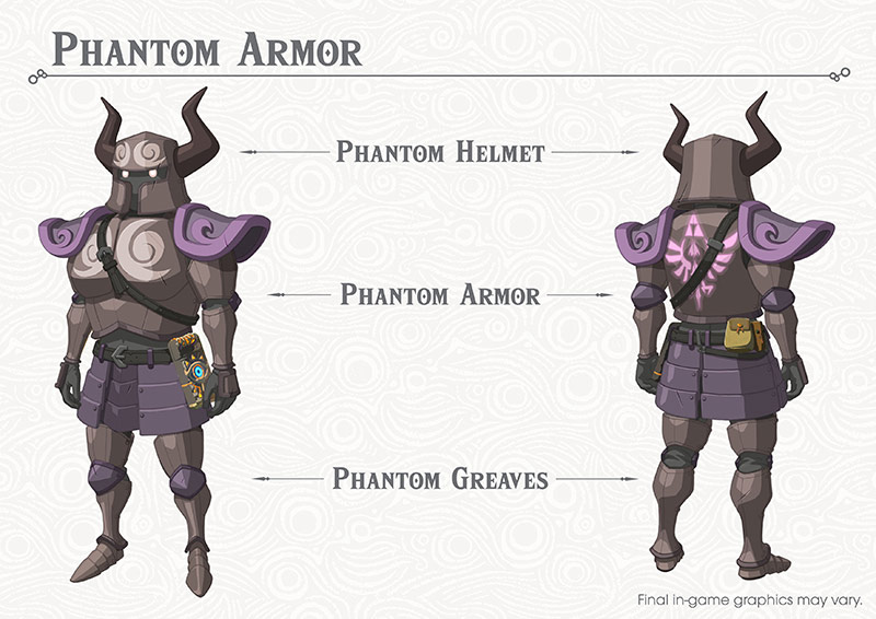 Breath of the Wild DLC: Phantomrüstung