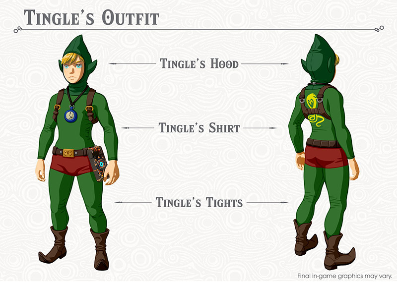 Breath of the Wild DLC: Tingles Outfit