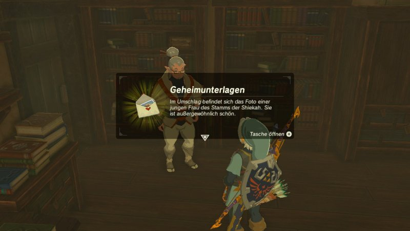 Breath of the Wild: Geheimunterlagen