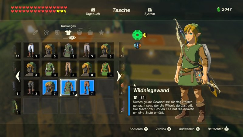 Breath of the Wild: Wildnisgewand
