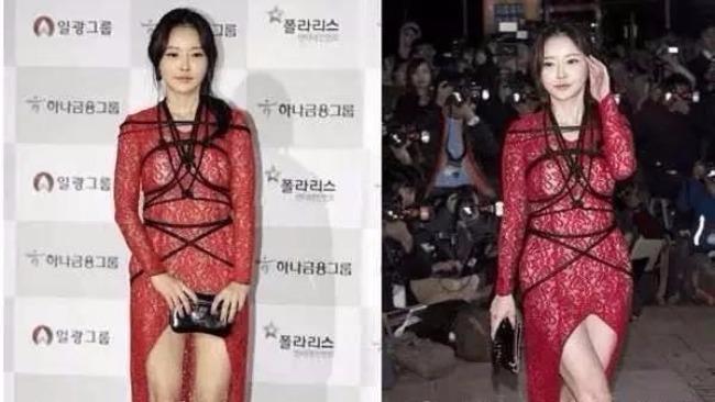在裸露這件事上,韓國女星真的好拼