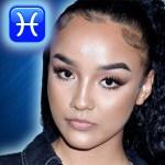 Lexii Alijai zodiac sign