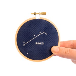 aries cross stitch kit