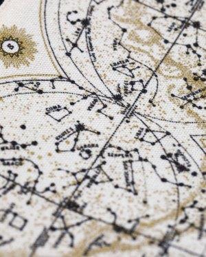 Astronomy Canvas Zipper Case Close Up