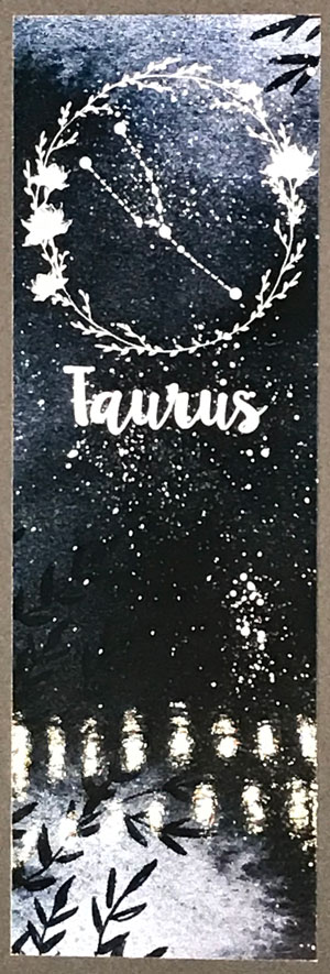 Taurus Bookmark