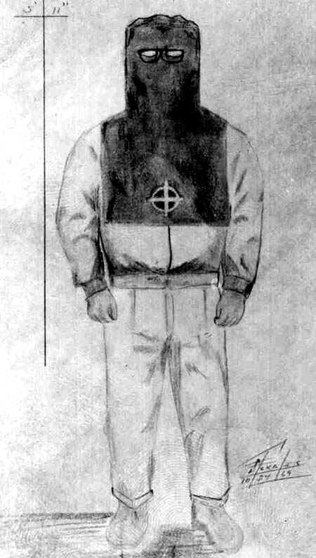 SFPD39s Drawing Of Zodiac In Costume