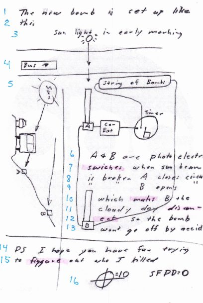 Bus Bomb Diagram