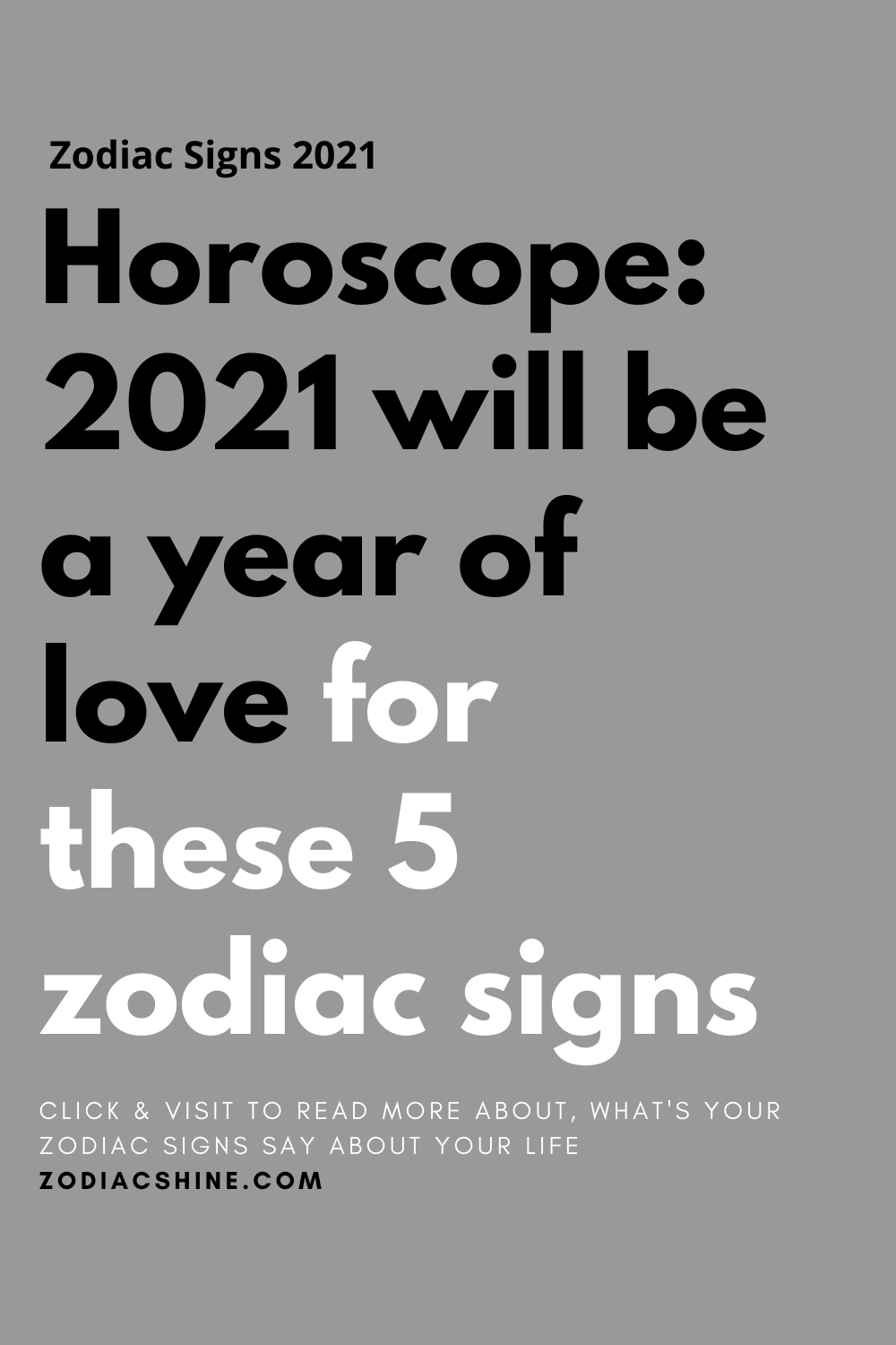 Horoscope: 2021 will be a year of love for these 5 zodiac signs