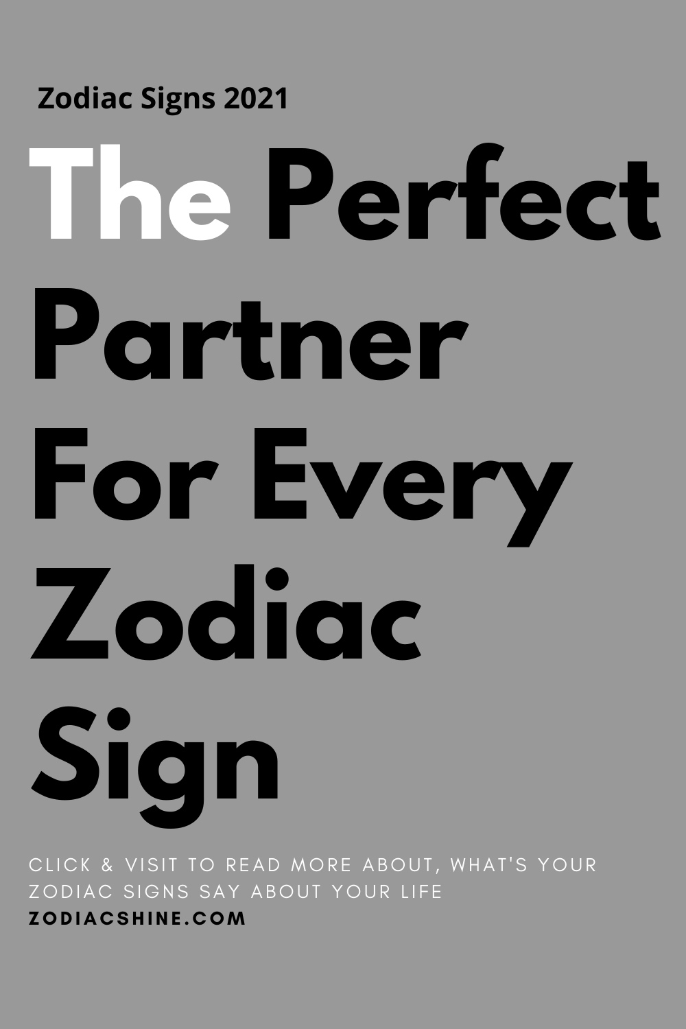 The Perfect Partner For Every Zodiac Sign