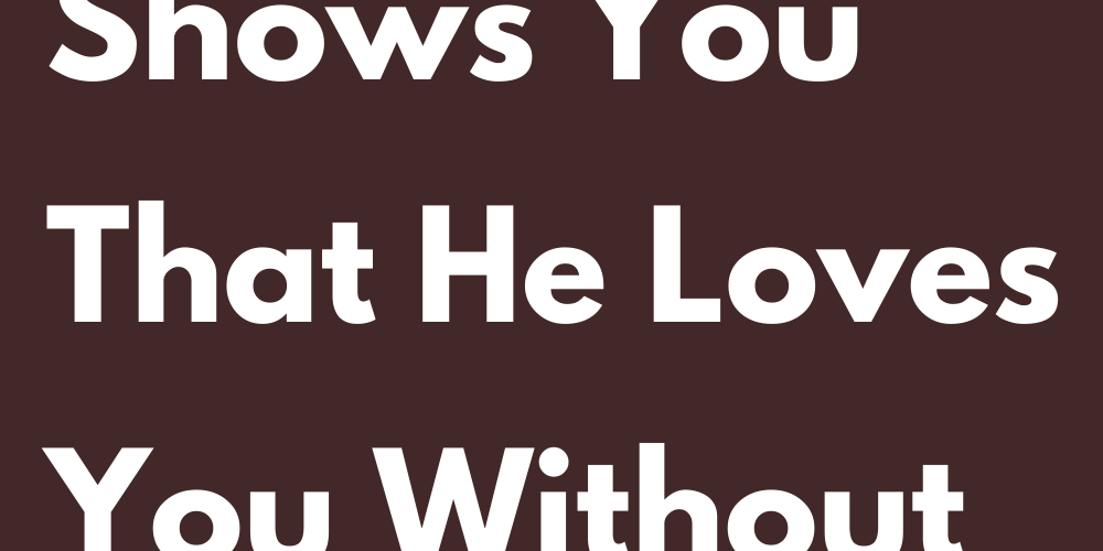 How Gemini Shows You That He Loves You Without Telling You