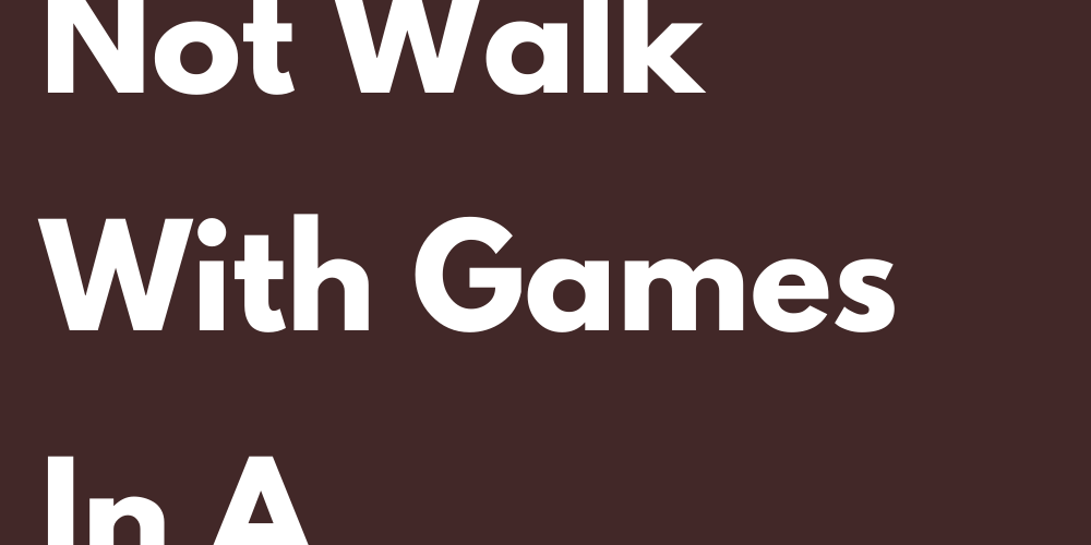Signs That Do Not Walk With Games In A Relationship
