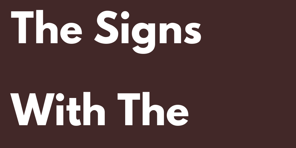 Ranking Of The Signs With The Biggest Heart
