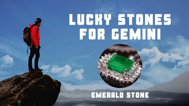 Best and Lucky Stone for Gemini is Emerald