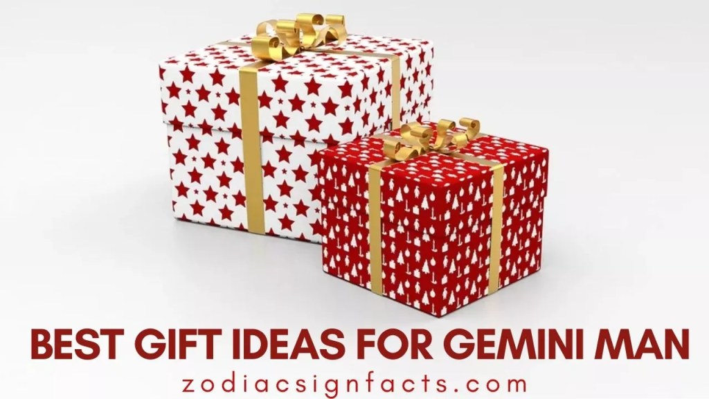 Best Gift Ideas for Gemini Man