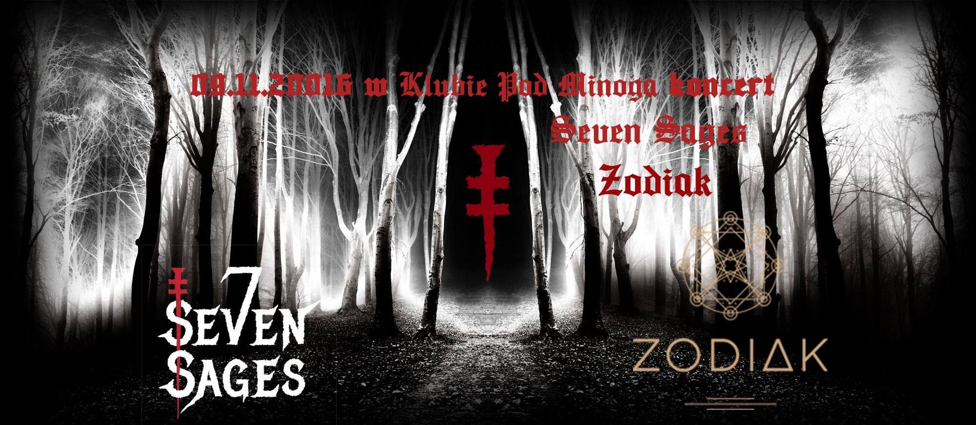 Zodiak i Seven Sages Pod Minogą 2016.11.09