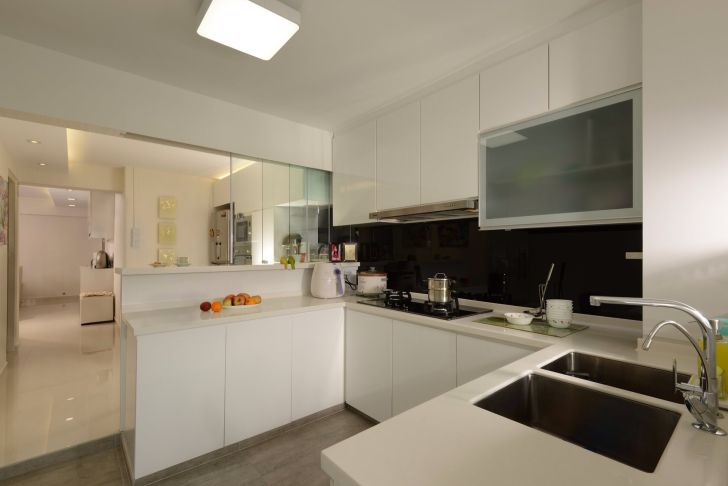 Kitchen Cabinets: Design For Wet And Dry Kitchen. Photos Design For Wet And Dry Kitchen Smartphone High Quality Kitchen