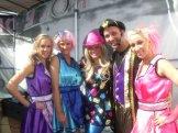 The cast of the Australian Hannah Montana Tribute Show