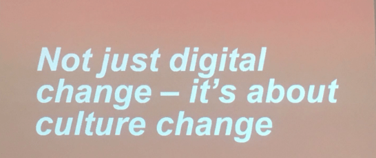 In 2018 digital change will be the new normal