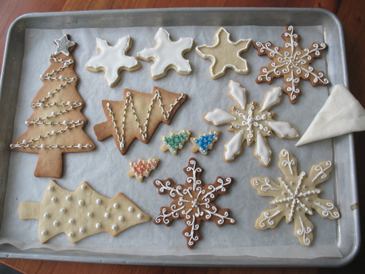 Holiday Sugar Cookies | ZoeBakes photo by Zoë François