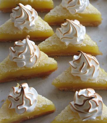 Lemon Meringue Bars | ZoëBakes | Photo by Zoë François