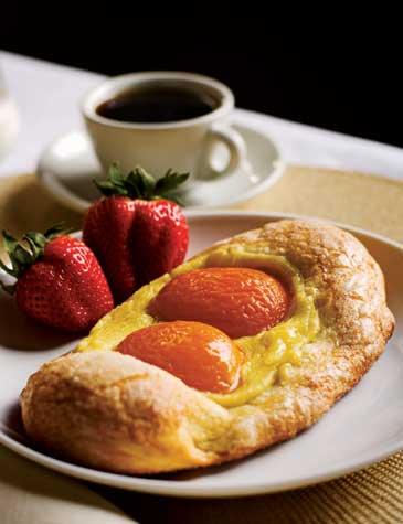 Sunny-Side-Up Apricot Pastry | ZoëBakes | Photo by Zoë François