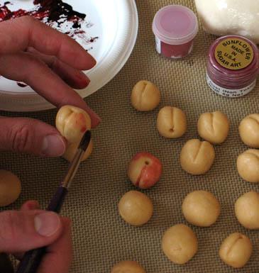 Marzipan Cherries Recipe | ZoëBakes | Photo by Zoë François