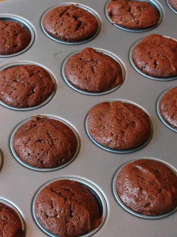 Chocolate Soufflé Cupcakes | ZoëBakes | Photo by Zoë François