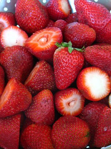 Fresh Strawberries | ZoëBakes | Photo by Zoë François